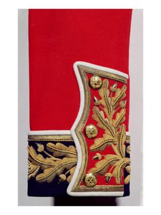 """Love it--British Army Uniform print---too modern, but maybe it could be """"aged""""?"""