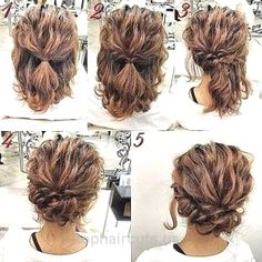 Romantic, Easy Updo Hairstyle Tutorial for Short Hair- Sweet and Simple Prom Hai… Romantic, Easy Updo Hairstyle Tutorial for Short Hair- Sweet and Simple Prom Hair Styles http://www.tophaircuts.us/2017/06/10/romantic-easy-updo-hairstyle-tutorial-for-short-hair-sweet-and-simple-prom-hai-2/