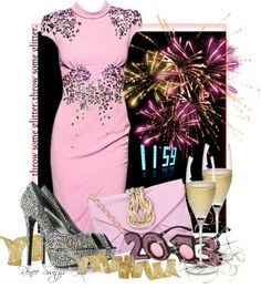 """""""New Year's Eve Party"""" by renee-switzer ❤ liked on Polyvore"""