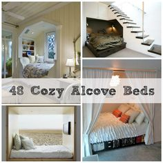 48 Totally Cozy Alcove Beds | DIY Cozy Home