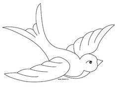 Areti's Place: Πατρόν για χελιδόνια
