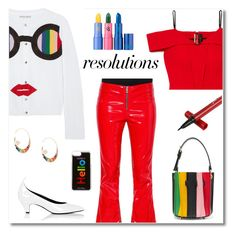 """""""#PolyPresents: New Year's Resolutions"""" by mariaangeles-g ❤ liked on Polyvore featuring Alice + Olivia, Roland Mouret, RtA, Calvin Klein 205W39NYC, Sara Battaglia, Lipstick Queen, Noor Fares, Edie Parker, contestentry and polyPresents"""