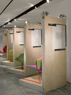 Rockwell Group for Moroso -using wood pallets