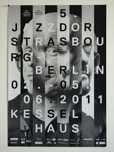 jazz event // No source but done for Kessel Haus which is a great experience for a front page on the web http://www.kesselhaus-berli... Worth the visit.