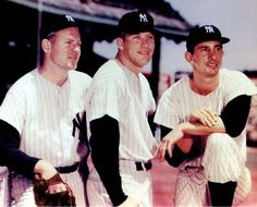 Here comes trouble! Whitey Ford, Mickey Mantle & Billy Martin
