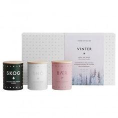Skandinavisk Vinter Scented Candle Gift Set