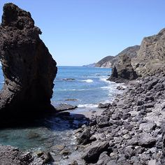 The rugged shoreline to the south of Mojacar presents some remarkable rock formations, seascapes, and hidden beaches...