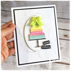 Bada-Bing! Paper-Crafting!: Rainbow Cake