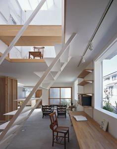 Beautiful Houses: House in Yamasaki, Japan