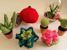 Plant Plush Box by GrinningMystCrochet on Etsy
