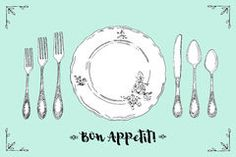 empty plate with fork and spoon and knife royalty free stock photo rh pinterest com
