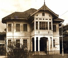 A colonial-style house in Bangkok