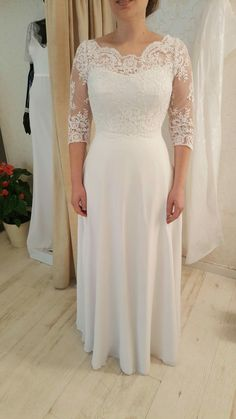 Plus size real bride in Chloe curvy wedding gown at Studio Levana