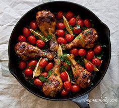 skillet roast, dinner chicken, skilletroast, one dish dinner