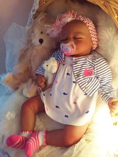 Completed Bi Racial Charity Completed Reborn Baby Doll from the Aisha 20 inch…
