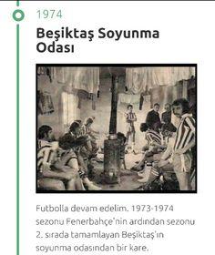 Beşiktaş soyunma odası 1973-1974 sezonu