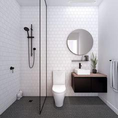 Simple bathroom ideas 2018 best bathroom remodel ideas makeovers design project bathroom bathroom design small and bathroom layout home decorators Bathroom Tile Designs, Bathroom Design Small, Bathroom Layout, Simple Bathroom, Bathroom Interior, Master Bathroom, Colorful Bathroom, Budget Bathroom, Bathroom Black
