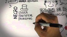 """La técnica """"6 sombreros para pensar"""" de Edward de Bono para buscar innovación y soluciones grupales!!! #educación"""