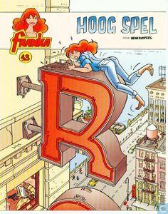 Carte postale - Bande dessinée: Franka - Franka 43