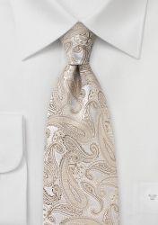 Kravatte Paisley ecru günstig kaufen