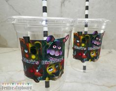 Five Nights at Freddy's Birthday Party Cups by FestiveCupboard