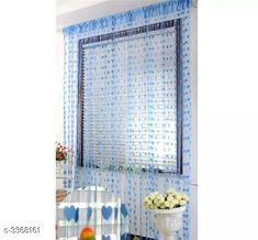 Curtains & Sheers Fashionable Net Polyester Door Curtains ( Pack Of 2 ) Material: Net Polyester Dimension ( L X W ): 7 ft x 4 ft Type: Stitched  Description: It Has 2 Pieces Of Door Curtains Work: Printed Sizes Available: 7 Feet, Free Size *Proof of Safe Delivery! Click to know on Safety Standards of Delivery Partners- https://ltl.sh/y_nZrAV3  Catalog Rating: ★3.9 (6478)  Catalog Name: Fashionable Net Polyester Door Curtains Combo Vol 1 CatalogID_466899 C54-SC1116 Code: 842-3368161-