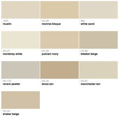 Best Ing Por Shades Of Brown Taupe Paint Colors From Benjamin Moore Mohair Or Shaker Beige