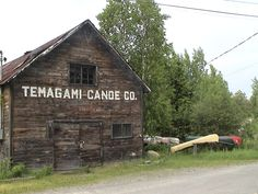 The old Canoe Co. building.