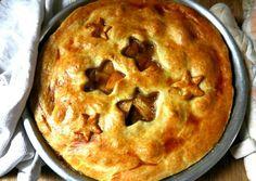Ροδακινόπιτα συνταγή από Athina - Cookpad Dessert Recipes, Desserts, Sweet Home, Peach, Pie, Sweets, Greece, Food, Cakes