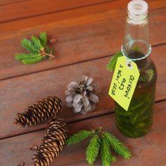 Smrkový olivový olej.