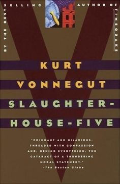 A book that was banned at some point. While I can appreciate the book, I'm not sure I enjoyed it.   Slaughterhouse-Five