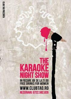 Grafic Design - Poster Karaoke Night