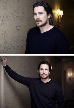 Christian Bale//Just needed a little bit of Christian this morning.