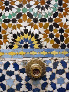 Fountain in Fez by Roberto Bertuol, via Flickr