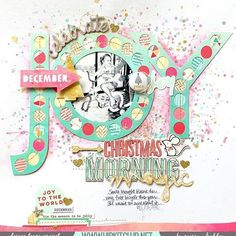 Check out this amazing page by @missywhidden created with our #november2015 kits featuring exclusive cut files designed by @nicolenowosad @pinkfreshstudio @kjstarre @heidiswapp @americancrafts @octoberafternoon #hipkitclub #hipkitclub #novemberkits #scrapbook #scrapbooklayout #christmas #christmasmemories