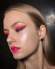 "2,740 Likes, 25 Comments - Mitya Gribko (@mityamboo) on Instagram: ""DOUBLE #eyeliner #color #orange #violet #ultraviolet #trends #fashion_tips #fashionillustration…"""