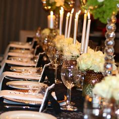 Tm20 Events styled this beautiful, classy and elegant 60th birthday celebration....