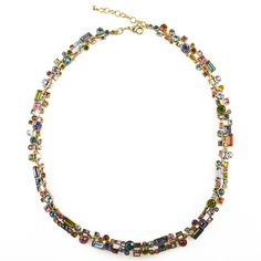 Confetti Necklace in Gold Fling Color Story by Patricia Locke