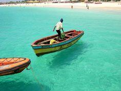 Geweest in 2014 - Cape Verde Sal Island, Cabo Verde Cape Verde Holidays, Cape Verde Sal, Places To Travel, Places To Go, Paradise Places, Bon Plan Voyage, Cap Vert, Snorkel, Verde Island