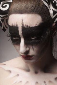 Resultado de imagen de unseelie make up
