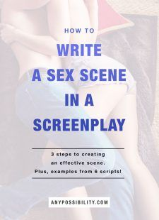 How to Write a Sex Scene in a Screenplay