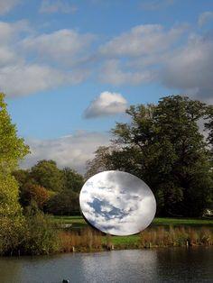 sky mirror | anish kapoor