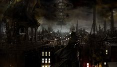 The Art of Videogames: Stunning dystopian multi-layered oil painting...