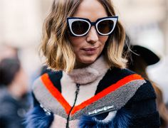 946070213 Candela Novembre wearing a Fendi jacket and Fendi sunglasses after the  Fendi Fall 2015 fashion show in Milan, Italy