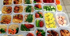 5 easy meals to prep throughout the week.