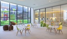 Shanghai Jiading Public Library by Vermillion Zhou Design Group | Scaled and themed furniture