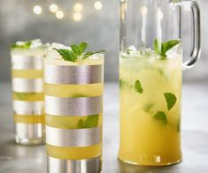 """Thermomix USA az Instagramon: """"The only thing better than a tall glass of lemonade 🍋 is a tall glass of minty vodka lemonade 🌱. Kickstart your weekend with this…"""" Vodka Lemonade, Wellness, Table Decorations, Usa, Glass, Instagram, Thermomix, Drinkware, Corning Glass"""