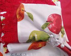 Guardanapo De Tecido maçã verde