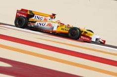 Fernando Alonso, Renault, GP Bahréin 2009