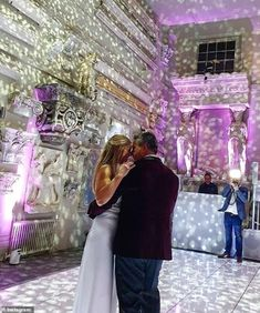 First dance:John Torode and Lisa Faulkner's delighted guests continued to give further insights into their big day with several snaps on social media